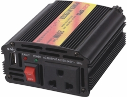 Carspa CAR200U-24, 24V/230V+USB 200W
