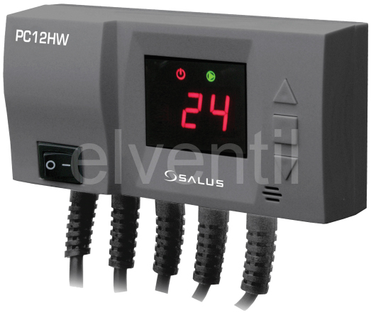 připojte tepelné čerpadlo medwell termostat